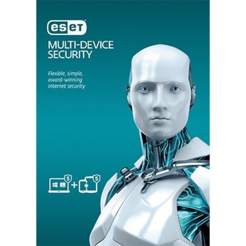 ESET Multi-Device Security -5 PCs or Mac and 5 Android Devices for Windows (1-10 Users) [Download]