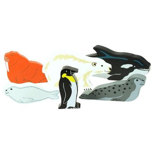 Bigjigs Toys JT111 Heritage Playset Polar Glacier