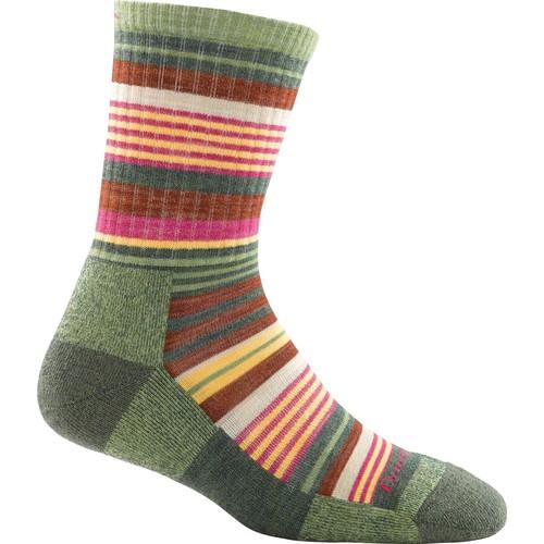 Sierra Stripe Micro Crew Hiking Socks - Women's