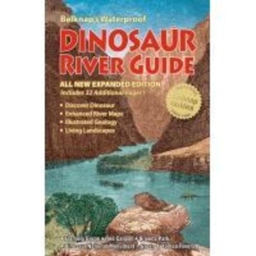 Partners West Dinosaur River Guide paw0060, Application: Canoeing, General Outdoors, Book Type: Guidebook,