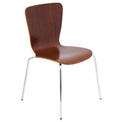 Lumisource Bentwood Stacker Chair