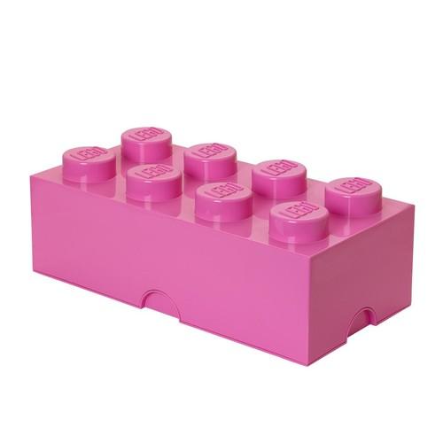 LEGO Friends Storage Brick 8 Toy Box Color: Bright Purple