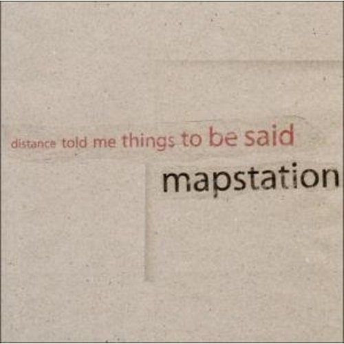 Distance Told Me Things To Be Said [LP] - VINYL