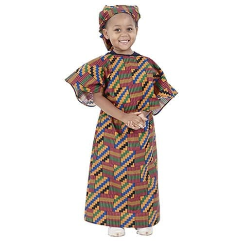 Multi-Ethnic Ceremonial Costume - African Girl