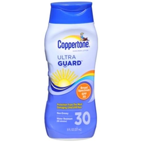Coppertone Ultra Guard Sunscreen Lotion, SPF 30