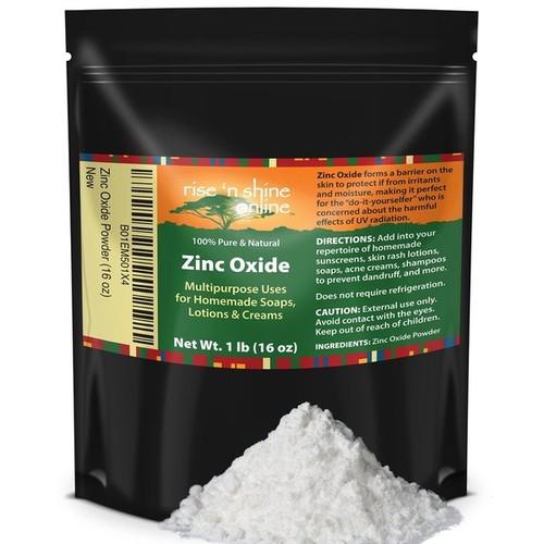 Rise 'N Shine 16-ounce Organic Zinc Oxide Powder
