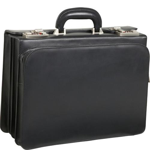 AmeriLeather APC Attache Leather Executive Briefcase