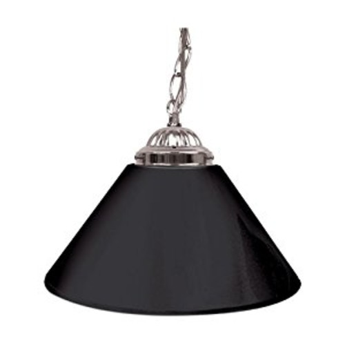 Trademark Gameroom Black Single Shade Gameroom Lamp, 14