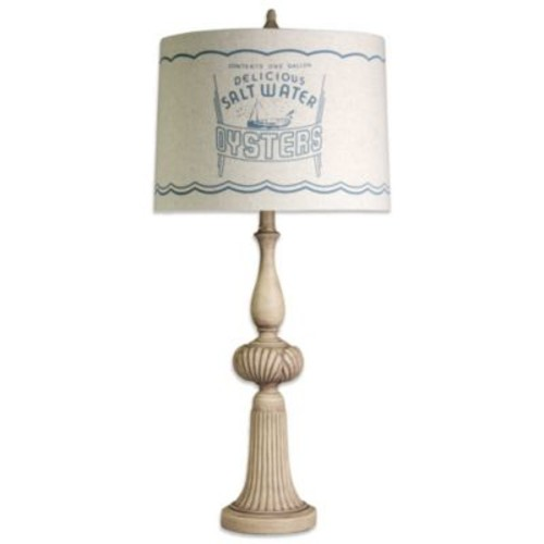 Coastal Oyster Table Lamp