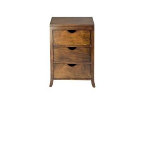 Safavieh Linda 3-Drawer Medium Oak Chest