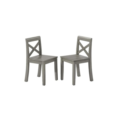 Oxford Kids Chair Set - Rustic Gray
