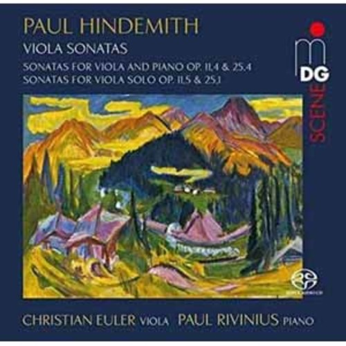 Christian Euler - Hindemith: Sonatas for Viola and Piano, Op. 1, 4 & Op. 25, 4