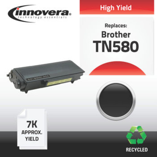 Innovera Remanufactured Brother TN580 High Yield Black Toner Cartridge