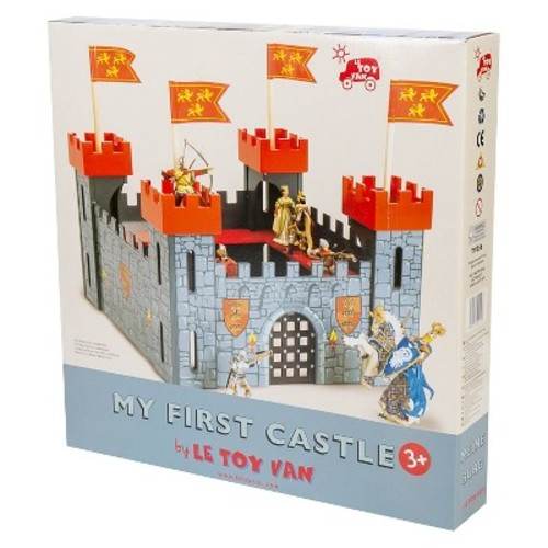 Le Toy Van Castle Playset, My First Castle - Red