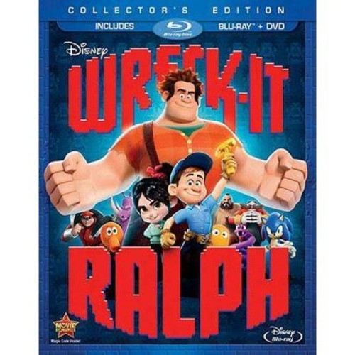 Wreck-It Ralph 2 Disc Blu-Ray Disc Combo Pack