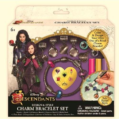 Disney Descendants Design & Style Charm Bracelets Set - Isle Rules