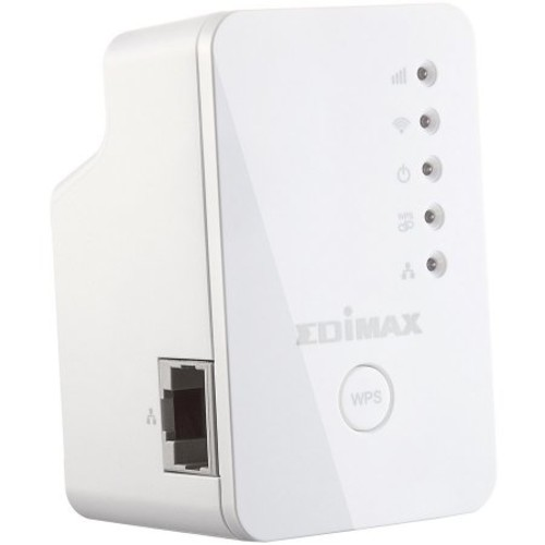 Edimax Mini N300 Universal Wireless Range Extender/Wi-Fi Repeater/Wall Plug/Ethernet Port with Analysis App (EW-7438RPn Mini)