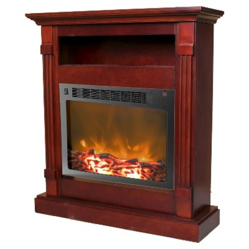 Cambridge - Sienna Electric Fireplace - Mahogany