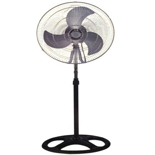 Brentwood 18 in. Industrial Standing Fan Shop Commercial House High Velocity Oscillating Blower 2-Year Warranty
