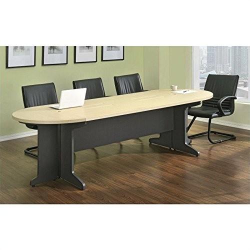 Altra Pursuit Large Conference Table Bundle, Natural/Gray [Large]