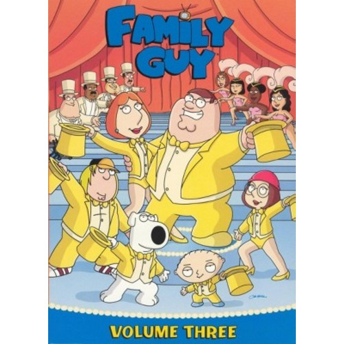 Family Guy, Vol. 3: Season 4 (3 Discs) (dvd_video)