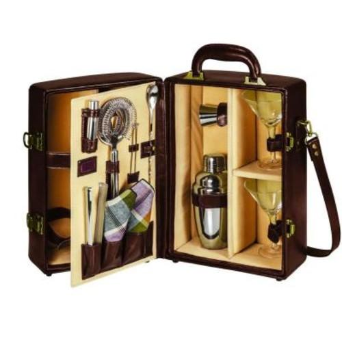 Picnic Time Manhattan Portable Cocktail Case