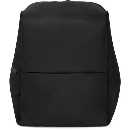 Black New Rhine Flat Backpack