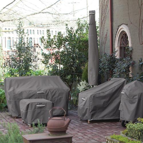 Classic Accessories Ravenna Patio Umbrella Cover in Dark Taupe