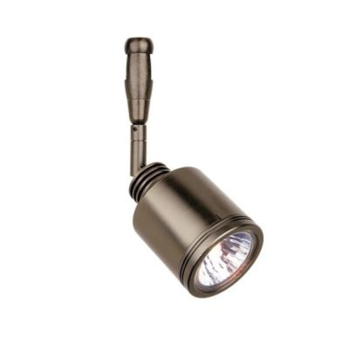 LBL Lighting Rev Swivel 1-Light Satin Nickel LED Track Lighting Head
