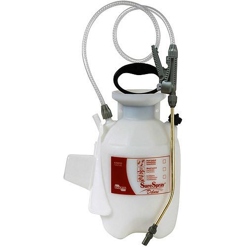 Chapin 26010 1-Gallon Deluxe SureSpray Sprayer For Fertilizer, Herbicides and Pesticides [1 Gallon]