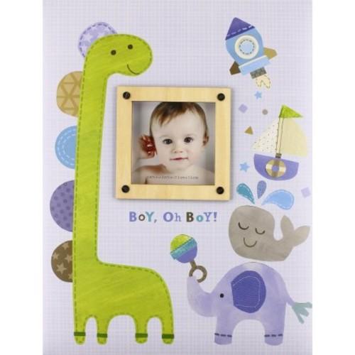 C.R. Gibson Memory Book - Boy, Oh Boy