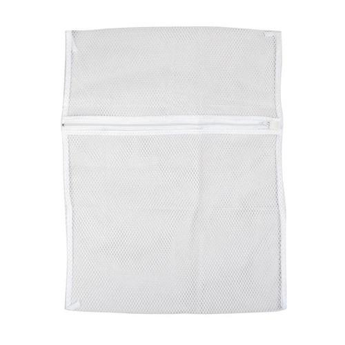 Unique Bargains Zipper Lingerie Delicates Clothes Mesh Laundry Washing Bag Travel Trip Packing Bag Home Household White