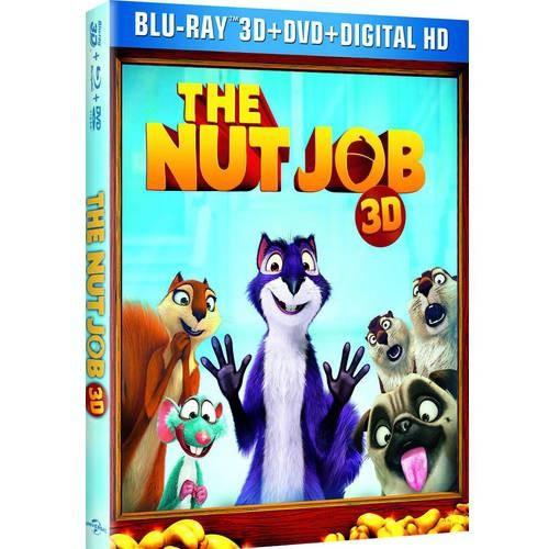 The Nut Job (Blu-ray + Blu-ray + DVD + Digital Copy)