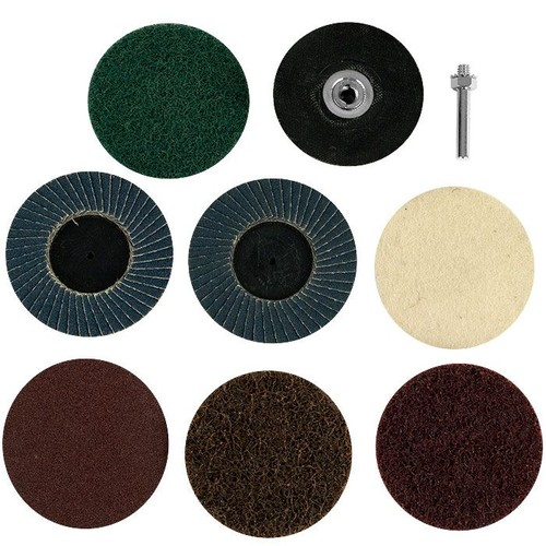 Stalwart 9 Piece Strip/Prep and Buff Cleaning and Polishing Set