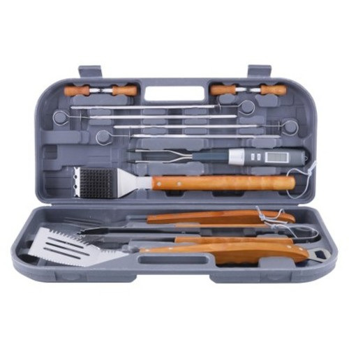 Mr. Bar-B-Q 12-Piece Tool Set with Bonus Temperature Fork