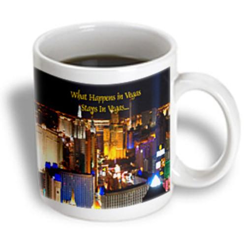 3dRose - Las Vegas - What Happens in Vegas Stays In Vegas - 15 oz mug