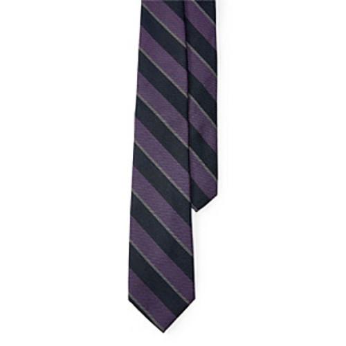 Lauren Ralph Lauren Striped Silk-Blend Tie
