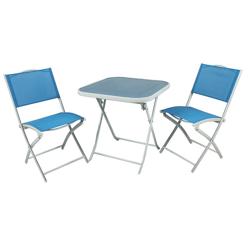 River Cottage Gardens PB009-1 Blue Bistro 3 Piece Set