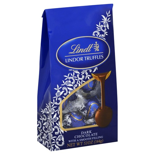 Lindt Lindor Truffles, Dark Chocolate 12 truffles 5.1 oz (144 g)