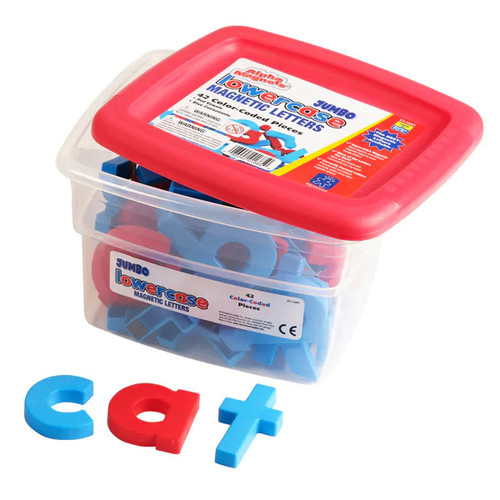 Educational Insights AlphaMagnets - Jumbo Color-Coded Lowercase, 42 pieces