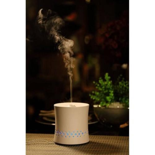 Sunpentown Aroma Diffuser, White Ceramic