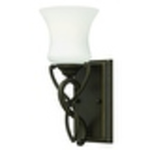 Hinkley Lighting 5000-GU24 1 Light Title 24 Fluorescent Bathroom Sconce from the Brooke Collection