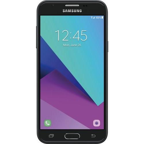 Samsung - Refurbished Galaxy J3 4G LTE with 16GB Memory Cell Phone (Unlocked) - Black