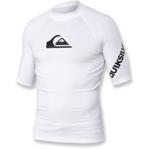 Quiksilver All Time Surf Shirt - Men's [white m]