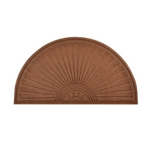HomeTrax Designs 169F0024 Guzzler Sunburst Door Mat
