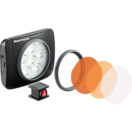 Lumimuse 6 On-Camera LED Light (Black)