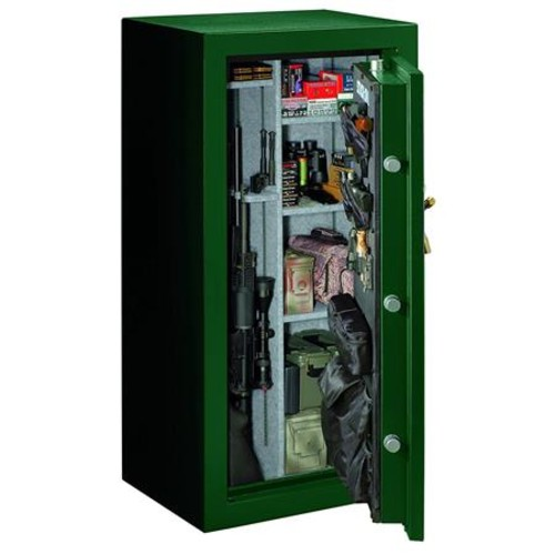 Stack-On 36-40 Gun Safe with Combination Lock, Matte Hunter Green