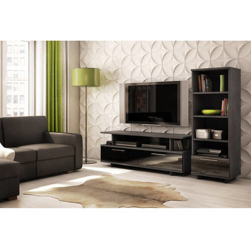 Reflekt TV Stand - Fits TVs Up to 60'' Wide  Gray Oak - by South Shore