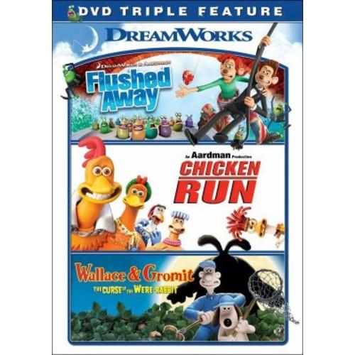 Flushed Away / Chicken Run / Wallace & Gromit