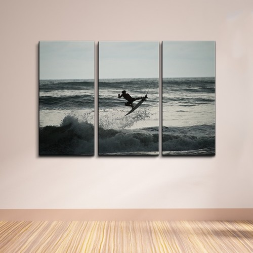 Nicola Lugo 'Carving' 3-piece Canvas Wall Art Set